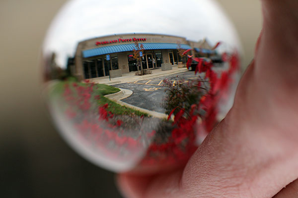 Overland Photo Supply in a lensball